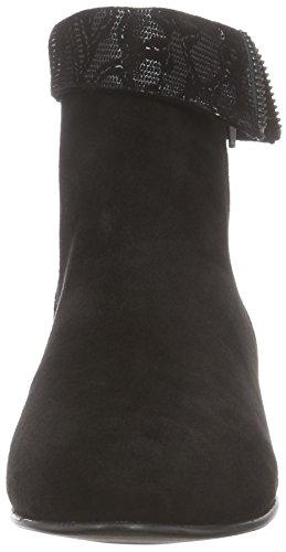 Giudecca JY14PR23-1 Damen Stiefeletten Schwarz (Black)