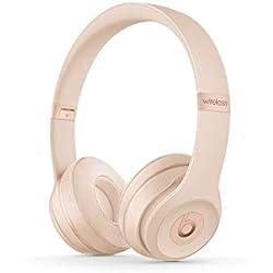 Beats by Dr. Dre Beats Solo3 Casque et Micro Binaural Bandeau Or - Casques et micros (avec Fil &sans Fil, Bandeau, Binaural, Supra-aural, 215 g, Or)