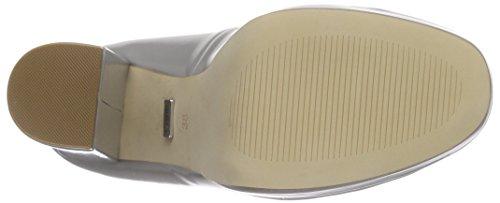 Buffalo 115-1617 Box Pu Damen Pumps Grau (Grey 01)