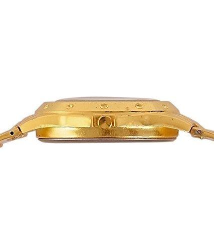 BLUTECH Golden Silver Analog Watch For Men