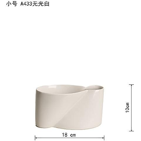 Vasi di ceramica ceramica creativa arte-piano portapaziente