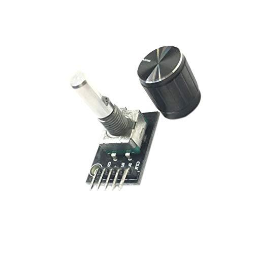 Morza 360 Grad-Drehgeber-Modul Ersatz für Arduino Brick Sensor Switch Development Board KY-040 DIY Elektronischen (Elektronische Sensoren)