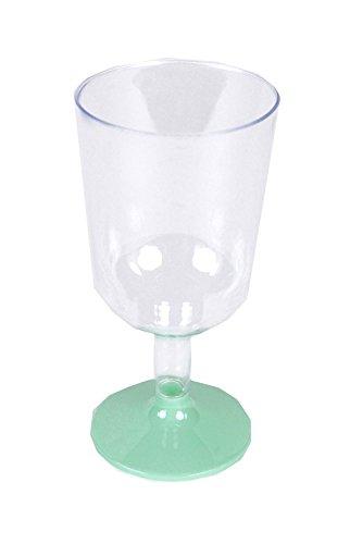 8Copas de vino de plástico de Fiesta 16cm, 130ml Capacidad.