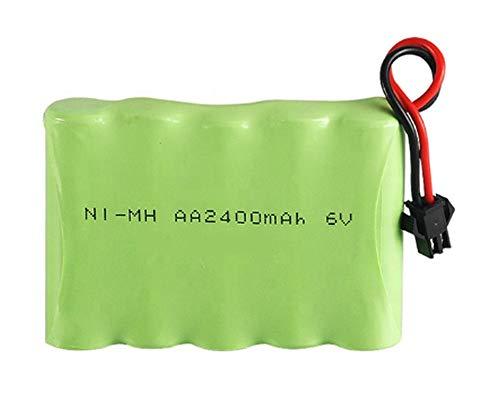 NI-MH 6.0 V 2400 mAh universeller Akku für ferngesteuerte Modellautos, Batterie, RC