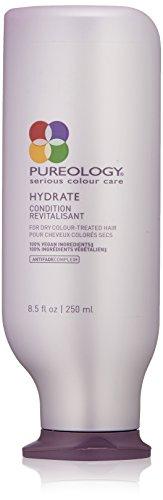 Pureology Après-shampooing revitalisant Hydrate - Pour cheveux colorés secs - 250 ml