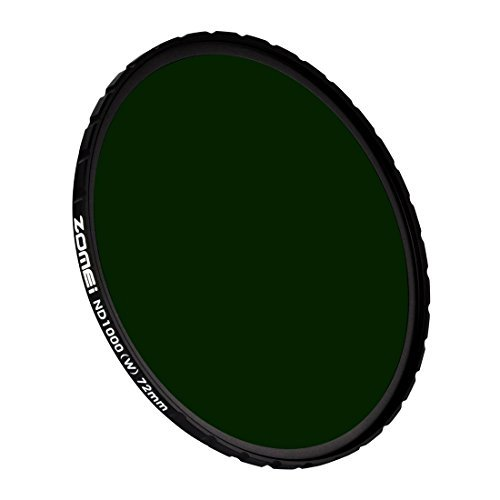 Ultra Slim Zomei HD 18 Schicht Grau Neutral SCHOTT Glas Super Multi-Coated ND1000 Filter 72 mm