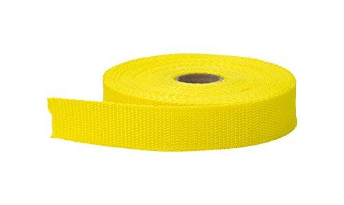PEARL Polypropylen-Gurtband, 3,8 cm breit, 10 m, Gelb Pearl Trim