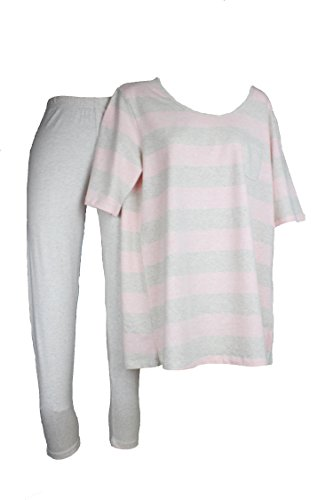 TCM Tchibo Damen Schlafanzug aus Bio-Baumwolle M 40 42