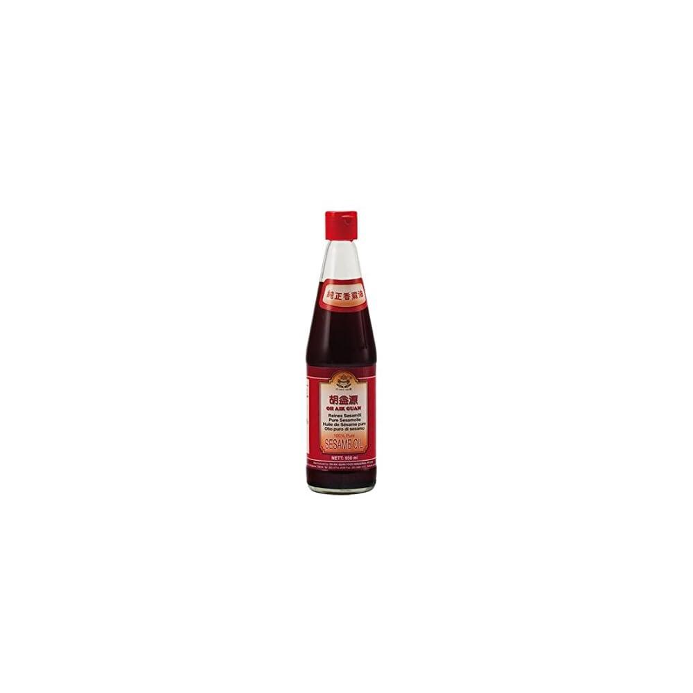 650ml Oh Aik Guan Reines Sesam L Aus Gersteten Sesamkernen Sesaml Sesame Oil