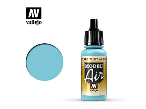Farbe Vallejo Model Air 71317 AII SV. Gol Light Blue (17ml)