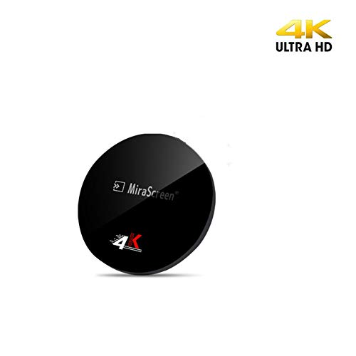 WiFi Display Dongle, MiraScreen 5G 4K HDMI Adattatore Miracast Dongle  Streaming TV Stick per Android / iOS / Windows, Supporta Google Home App e