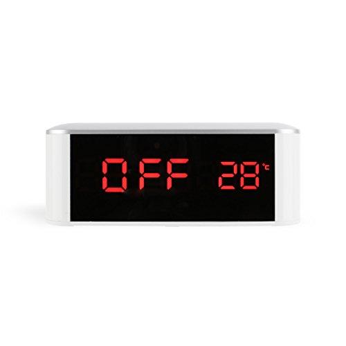 LED Digital Despertador con botones táctiles