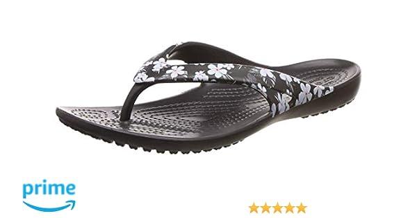 8d61bd7c5b524 crocs Women's Kadee II Seasonal Flip W Multicolor Flops-W8 (205635-98F-W8)