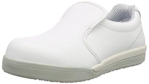 Sanita San-Chef Slipper-S2, Scarpe Antinfortunistiche Unisex-Adulto, Bianco (White 1), 41 EU