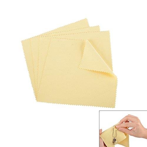 shlizak 420x 20cm gelb Schmuck Reinigungstuch Reinigung für Platinum Gold und Sterling Silber