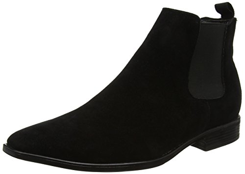 New Look Men's Wintro U Gusset Chelsea Boots, Black (Black), 11 UK...