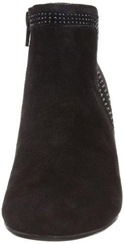 Gabor Shoes 95.671.17 Damen Kurzschaft Stiefel Schwarz (Schwarz)