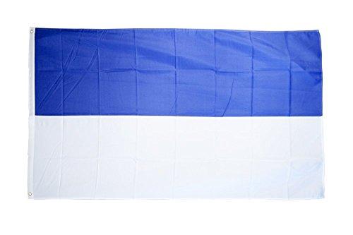 Fahne / Flagge Blau-Weiß + gratis Sticker, Flaggenfritze®