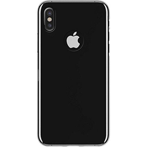 PhoneNatic Case für Apple iPhone X Hülle Silikon schwarz transparent Cover iPhone X Tasche Case Crystal Clear