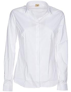 Fay Camicia Donna Ncwa135564sormb001 Cotone Bianco