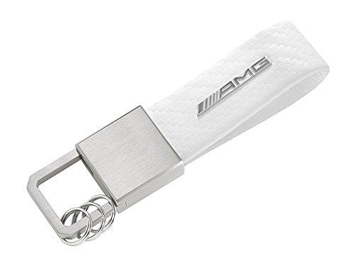 mercedes-benz-llavero-de-fibra-de-carbono-diseo-amg-color-blanco