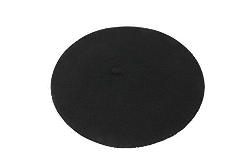 Euskal Txapela - Gorro - para mujer Negro negro