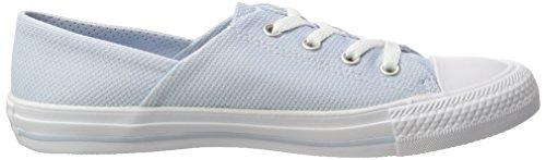 Converse All Star Coral, Sneaker Unisex-Adulto Mehrfarbig (Porpoise/White/White)