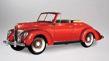 Lindberg 1:32 scale 1940 Ford Convertible
