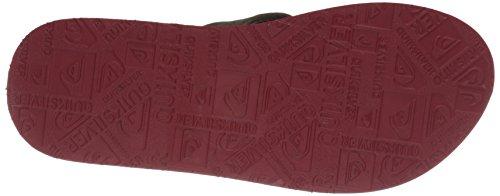 Herren Sandalen Quiksilver Carver Fg Sandals brown/brown/red