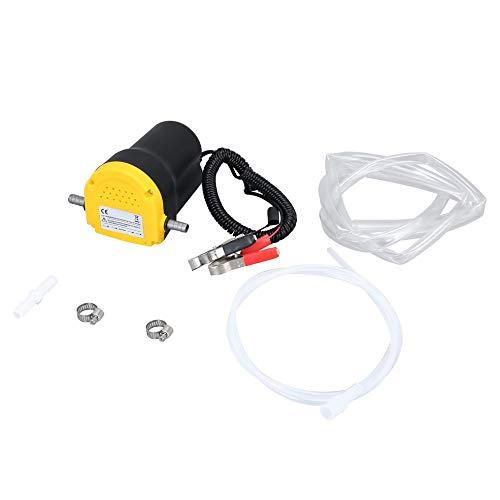 BlackEdragon 12V Pompa Olio Motore Motore Estrattore Olio combustibile Pompa di trasferimento dell'aspirazione Scavenge con Tubo Flessibile per Camion Auto Moto Auto B