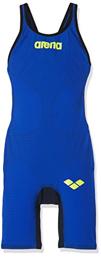 Arena W pwsk Carbon Air FBSLO Badeanzug, Clipback, Damen, W Pwsk Carbon Air Fbslo, Blau (electric blue), 28