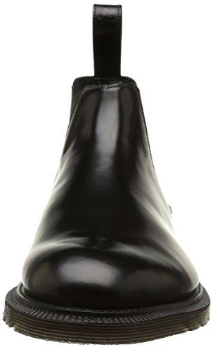 Dr. Martens Wilde, Bottes Chukka Homme Noir (Black Polished Smooth)