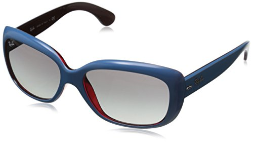 Ray-Ban Damen Sonnenbrille RB4101, Gr. One Size, Blau/Grau