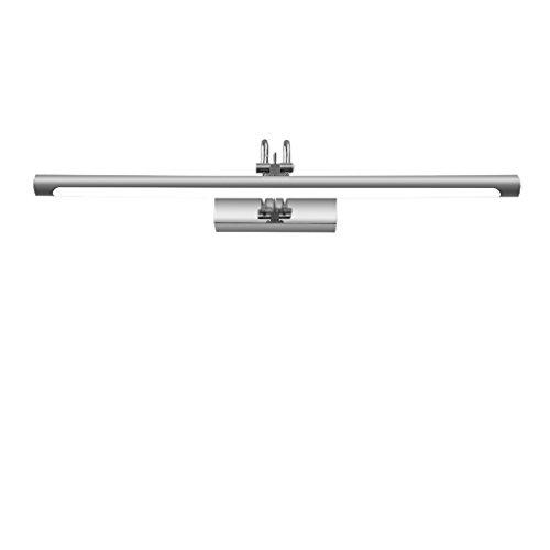 Wddwarmhome Edelstahl führte Spiegel-Licht-Badezimmer-wasserdichte und Anti-Nebel Make-uplicht-Wand-Lampe einfacher und moderner Spiegelkabinett beleuchtet weißes Licht ( größe : 55cm 8W - Biegen Nach Sie Unten Edelstahl