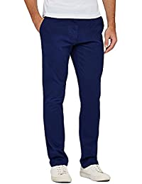 oiin Men's Slim fit Casual Party wear Chinos Trouser