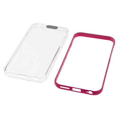 Phone case & Hülle Für iPhone 6 / iphone 6s, TPU + Plastikrahmen-Kombination Fall mit Anruf LED-Beleuchtung blinkt ( SKU : S-IP6G-0785B ) S-IP6G-0785M