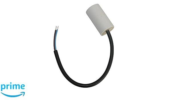 Kondensator st/ändigen Arbeitsprogramm f/ür Motor 40/µF 450V mit 6,3 mm Anschl/üssen Aerzetix
