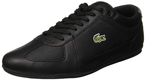 Lacoste Herren Evara Sport 119 1 CMA Sneaker, Schwarz (Blk/Dk Gry 237), 42 EU