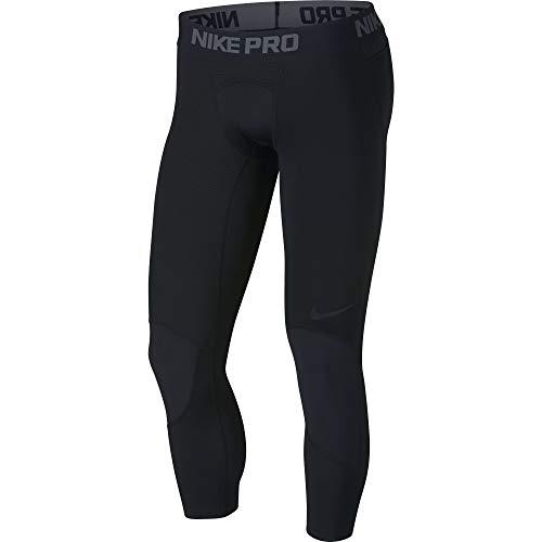 Nike Herren M NP Dry 3QT Bball Tights Black L