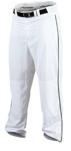 Rawlings Herren Baseballhose, Herren, PRO150P-W/B-89, weiß/schwarz, m (Hose Rawlings Baseball)