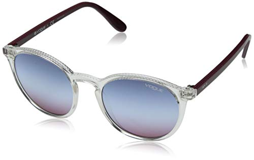 Ray-Ban Damen 0VO5215S Sonnenbrille, Mehrfarbig (Transparente), 51