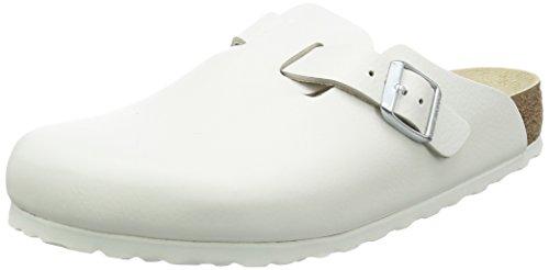 Preisvergleich Produktbild BIRKENSTOCK Unisex Erwachsene Clogs, Weiß - Weiß - Größe: 37 EU