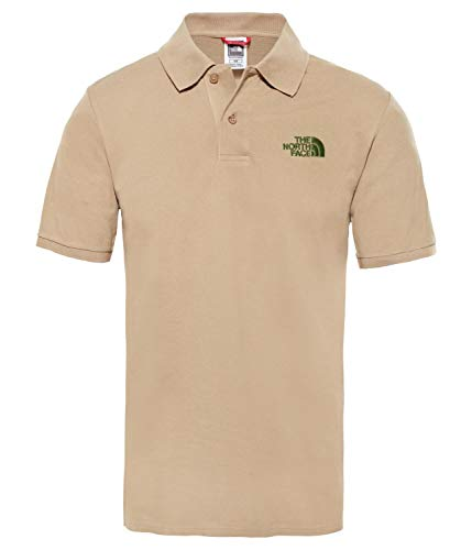 The North Face M Polo Piquet, Hombre, New Taupe Green, S