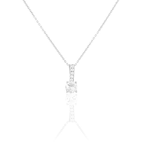 HISTOIRE D'OR - Collier Or - Femme - Or blanc 375/1000