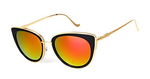 Sonnenbrille Metallrahmen Cat Eye Frauen Weibliche Sonnenbrille Sonne Brille Berühmten Designer Legierung Beine Gläser Gold Frame Lila