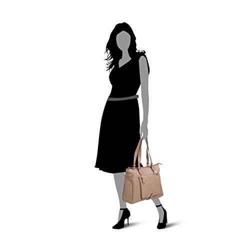Picard Damen Loire Shopper, 37x27x11 cm Leinen