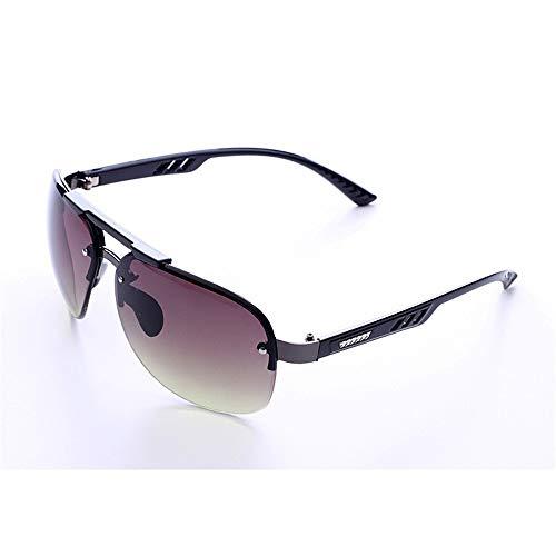 Sonnenbrillen Mode Herrensonnenbrillen Frameless Personality Fashion Glasses Drive Herrensonnenbrillen (Farbe : S4)