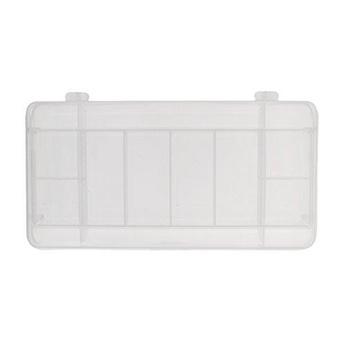 Gazechimp Klar Angelzubehör Wasserdicht Tackle Box Aufbewahrung Kasten für - Platinen Angeln