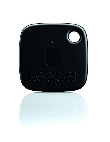 Gigaset Keeper  S30852-H2755-R101 Solo  Porte-clés connecté  avec Alertes sonores/lumineuses Bluetooth 4.0 Noir