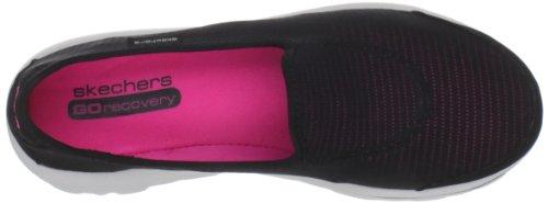 Skechers GO Recovery Damen Sneakers Schwarz (Bkhp)